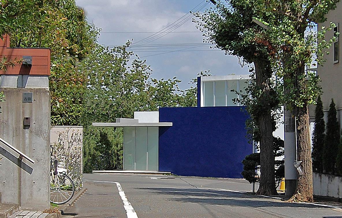 急傾斜地の家/成城 ブルー HOUSE_04