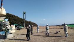 勝浦現場風景
